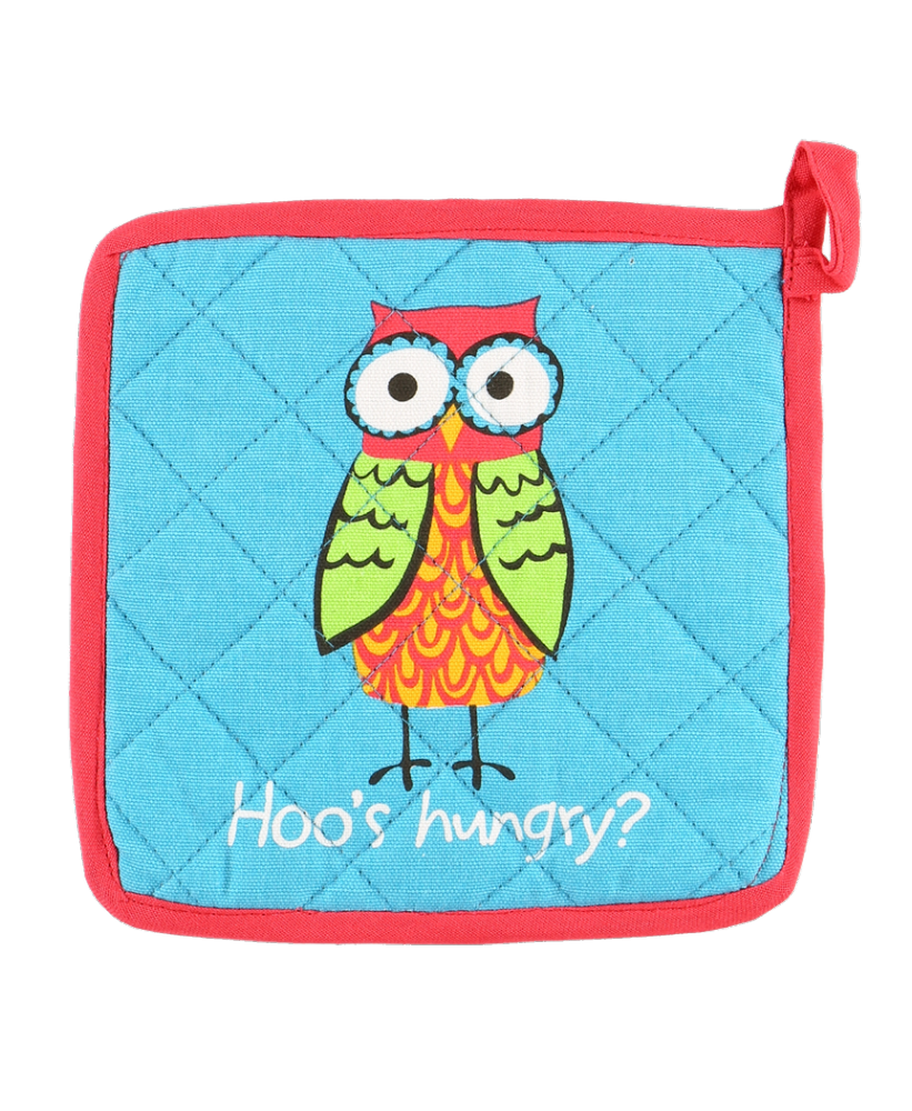 Hoo's Hungry Owl Pot Holder - Lazy One®